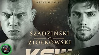 KSW 46 - Gracjan Szadziński vs Marian Ziółkowski
