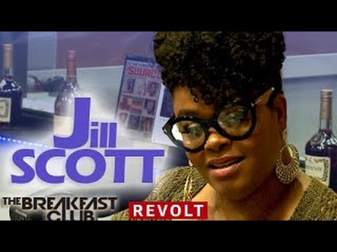 Jill Scott Interview at The Breakfast Club (7/29/2015)