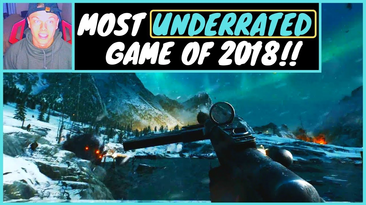 Most UNDERRATED GAME OF 2018!!