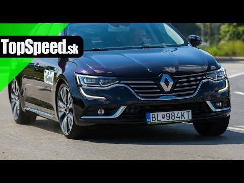 Test Renault Talisman dCi160 Initiale TopSpeed.sk
