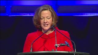 Premier Alison Redford At The 2013 Calgary Leader's Dinner