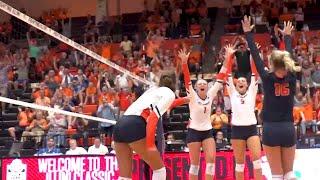 Illini Volleyball   Creighton Highlights