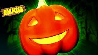 Scary Pumpkin Song | Halloween Music for Kids + More Baby Rhymes