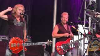 Night Ranger Aug 21, 2013: 5 - Crazy Train [Ozzy Osbourne] - Dutchess County Fair, Rhinebeck, NY