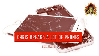 CMS HIGHLIGHT – Chris Breaks A Lot Of Phones – 3/7/20