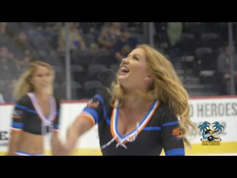 San Diego Gulls Scrimmage for Fans at Valley View Casino Center