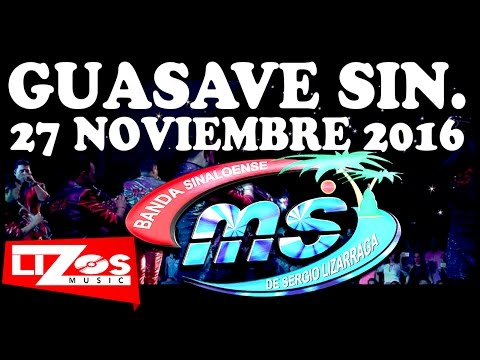 BANDA MS EN GUASAVE ESTADIO CARRANZA LIMON 27 NOV 2016!!!