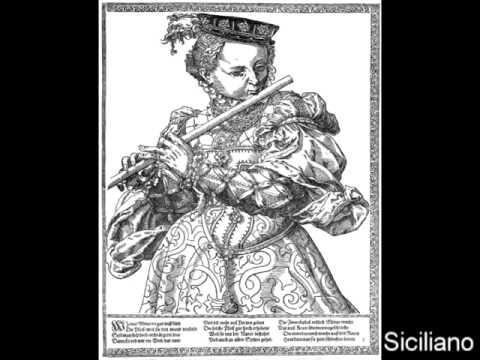 J.S.Bach - Sonata BWV 1035 - Siciliano. Flauto Bruno Cavallo