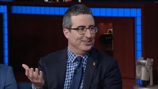 John Oliver Used His Accent To Gain The Trust Of Strangers