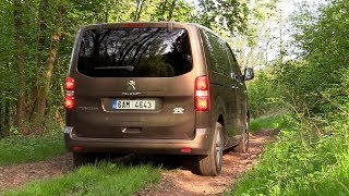 New Peugeot Traveller Compact 2,0 BlueHDi 4x4 Dangel | Driving footage