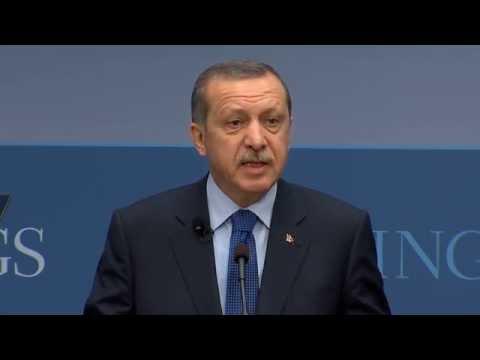 A Statesman's Forum with H.E. Recep Tayyip Erdoğan, Prime Minister of Turkey