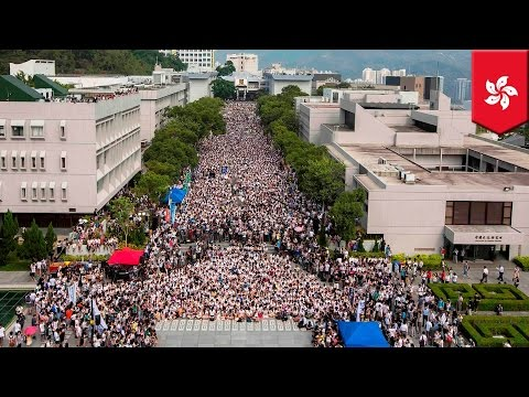 China vs. Hong Kong: Students strike foe democracy, call for direct election of city's Chief Executi
