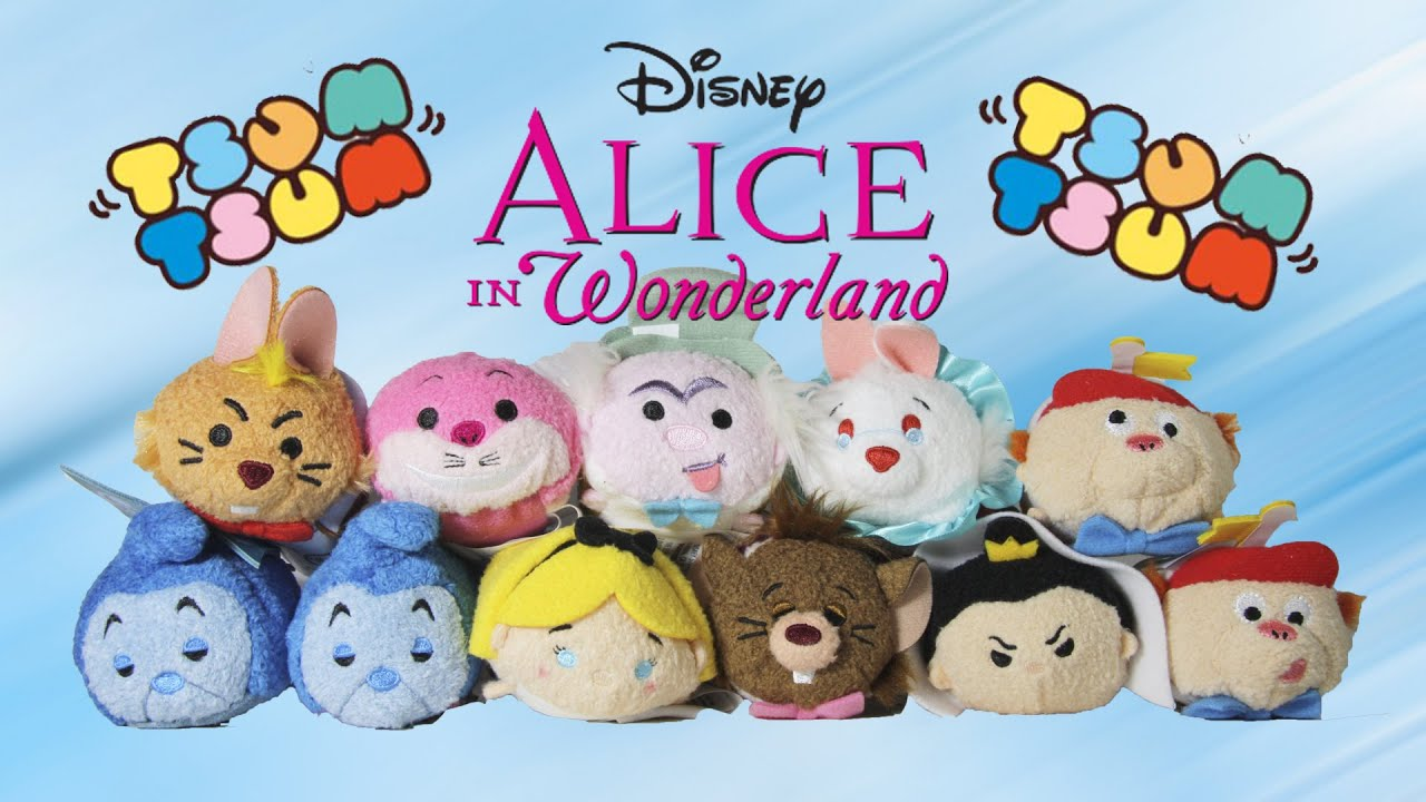 Alice In Wonderland Tsum Tsum Collection Review Youtube