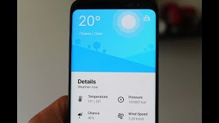 Overdrop The Best Looking Weather App For Android