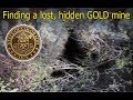 Hunting for, possibly finding, a lost gold mine purposely being hidden, Colorado 2018