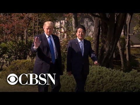 President Trump to visit Japanese warship