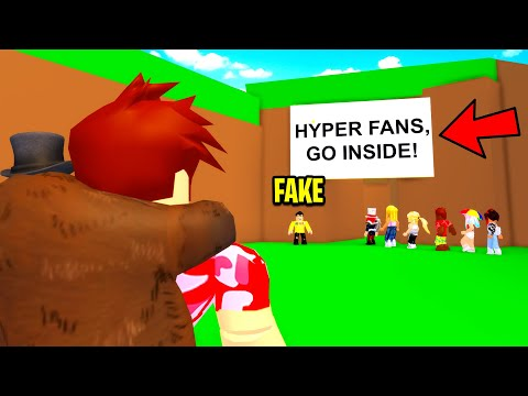 This YOUTUBER Was Scamming Fans.. But Who He Was Will SHOCK YOU! (Roblox)