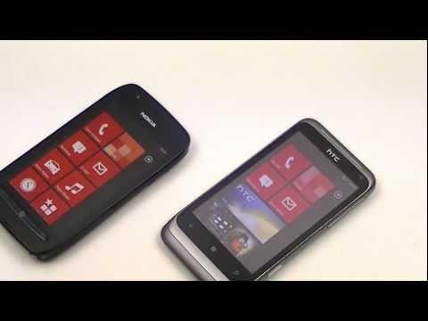 Dutch: Nokia Lumia 710 vs HTC Radar review