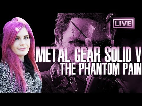 Metal Gear Solid V: The Phantom Pain (first time playing!)