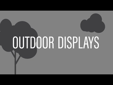 Introduction to Outdoor Displays