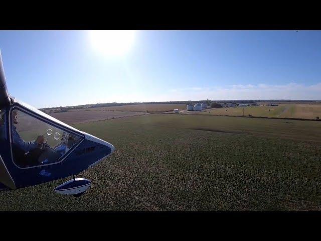 CGS Hawk Arrow & Rans S12 Hanger Kafe breakfast flight.