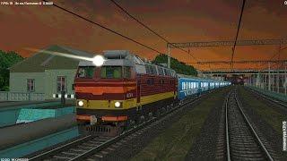 Симулятор поезда «ZDsimulator» | поездка на ЧС4Т / #1(Скачать симулятор-тренажёр, ссылка на официальный сайт: http://zdsimulator.com.ua/ Поездка в кабине виртуального элект..., 2014-11-30T05:38:22.000Z)