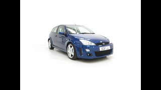An Early Build Ford Focus RS Mk1 with a Massive History File and Enthusiast Owned - £16,395