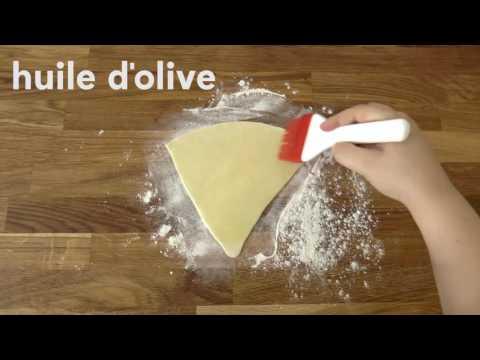 La recette des cornets de pizza