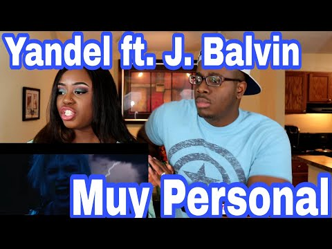 Yandel - Muy Personal ft. J Balvin |Couple Reacts