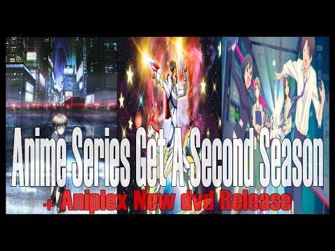 Anime News: Psycho-Pass & Space Dandy Season 2 Confirmed + Aniplex New DVD Release