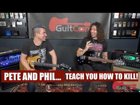 PHIL X AND PETE THORN GUITCON 2017 Pete and Phil Teach You How To Kill
