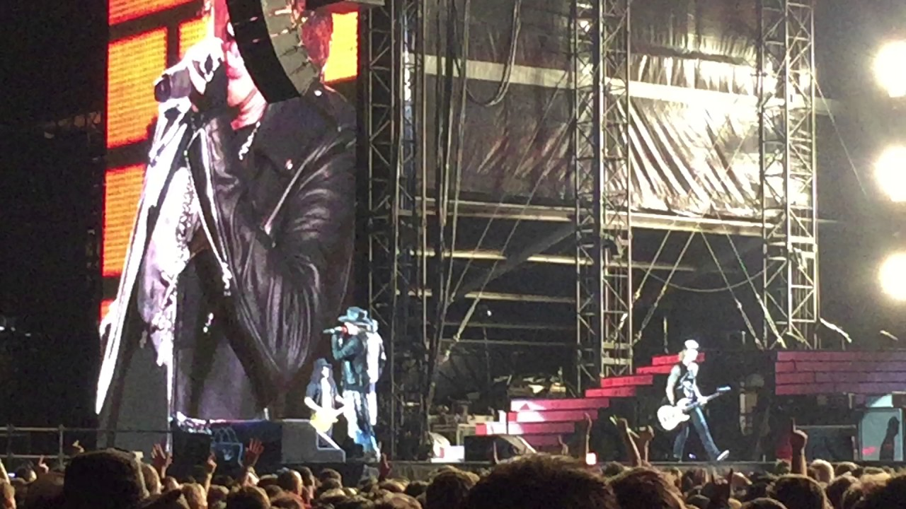Guns N Roses Nightrain At Messegelände Hannover Germany 2206