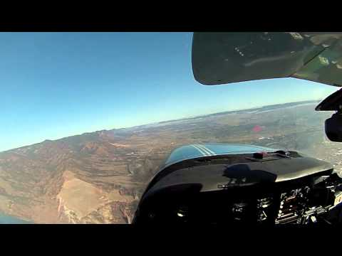 Flying N34423 around Colorado Springs, Pikes Peak and Garden of the gods