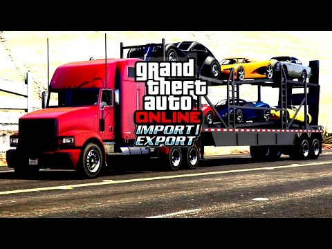 GTA Online: Import/Export Trailer [ Fan Made ]