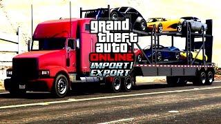 GTA Online: Import/Export Trailer [ Fan Made ]