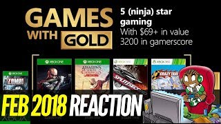 Xbox Games With Gold February 2018 Review   Xbox One Xbox 360 Free Games 2018