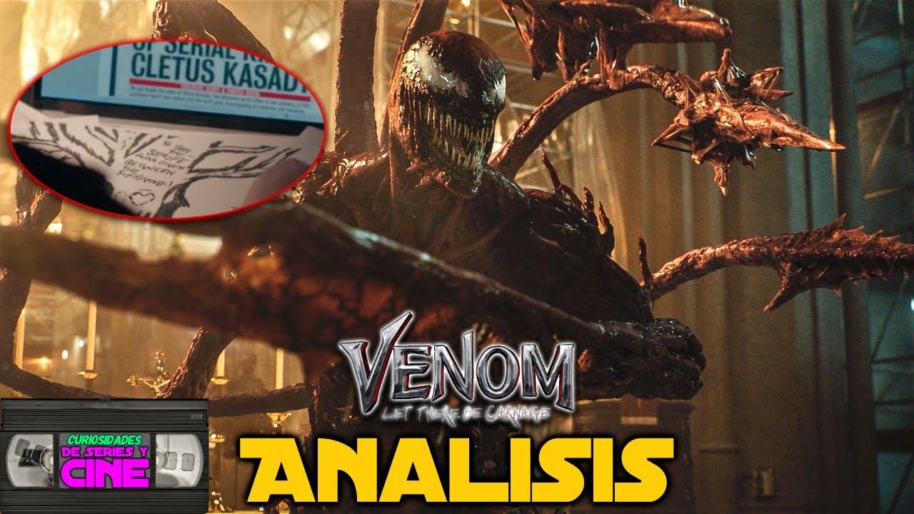 Venom Let there be Carnage -Análisis segundo tráiler, conexiones universo de Amazing Spiderman