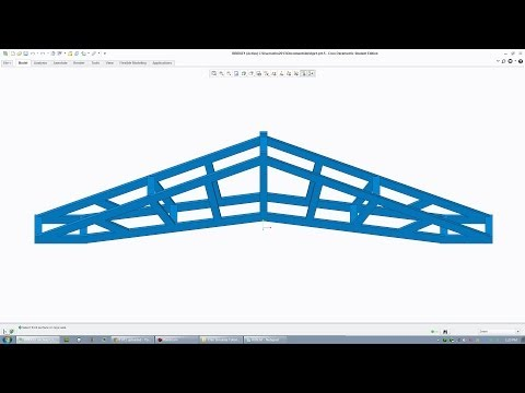 Creo Tutorial - Bridge Building And Simulation Tutorial
