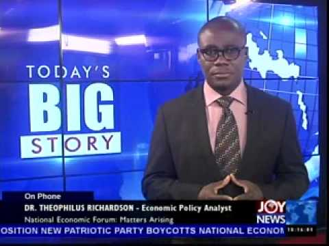 National Economic Forum - Today's Big Story on Joy News (13-5-14)