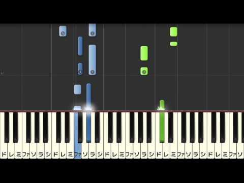 【ゆっくり】世界に一つだけの花/SMAP(ピアノソロやさしいアレンジ)【楽譜あり】 SMAP - Sekai ni Hitotsu Dake no Hana [PIANO][EASY][SLOW]