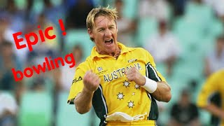 ANDY BICHEL - 20/7 one of the best bowling spell in the World Cup