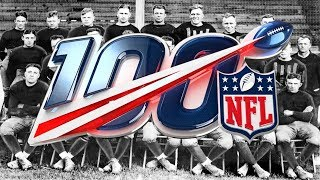 The NFL  - 100 Years Ago (The First NFL Season)