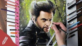 WOLVERINE - Drawing Hugh Jackman - X MEN (FILMKRITIK REVIEW)