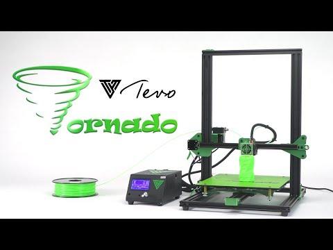 Tevo Tornado 3D Printer with 220V Heat Bed Almost Fully Assembled (EU Plug)