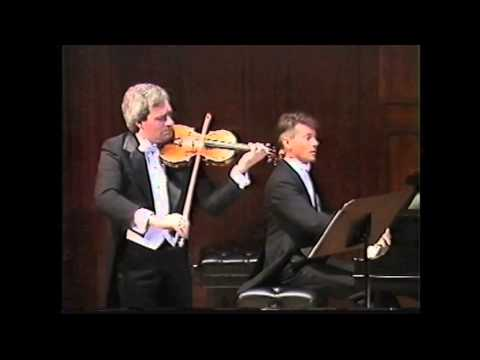 RAVEL Kaddish - Jacques Israelievitch (violin), Jeffrey Grice (piano)