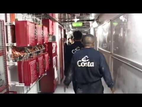 AeroScout ship safety - Costa