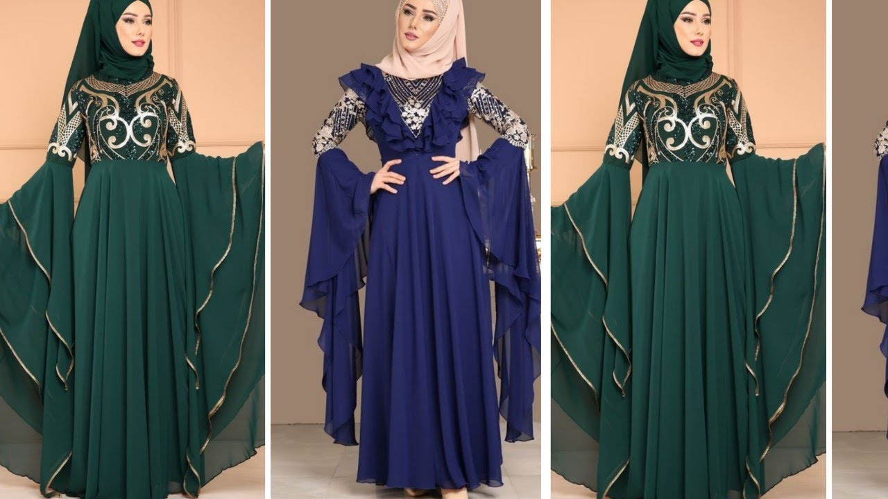 [VIDEO] - Gorgeous Burka collection 2019//Abayas Collection ideas 2019/#burka#abaya#hijab#jilbab 6
