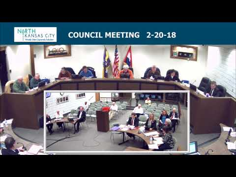 City of North Kansas City Regular Council Session 2-20-18