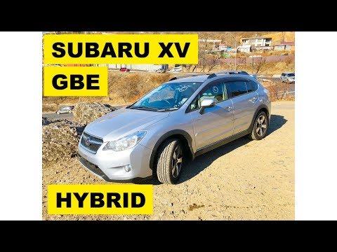 Фото к видео: Авто из Японии - Обзор SUBARU XV GPE (гибрид) без пробега с аукциона Японии