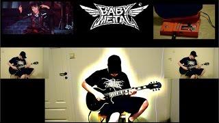 Babymetal - Gimme Chocolate!! guitar cover